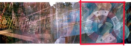 strip of multiexposure 120 film