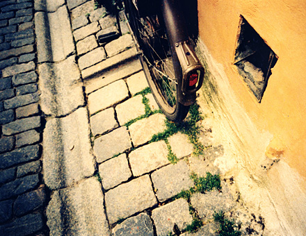 Book project, Bikes In the Old City of Stockholm