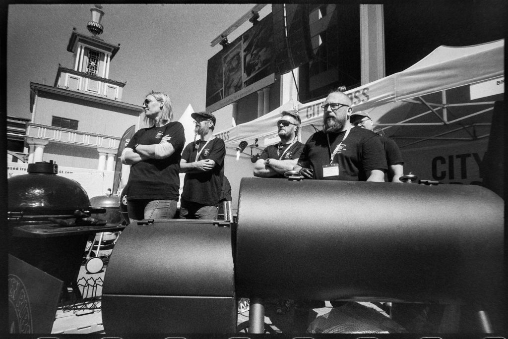 BBQ team at competition