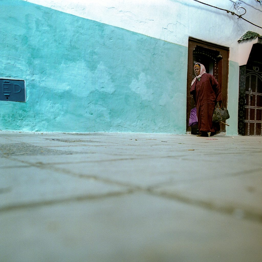 Color image from Morocco with high colors